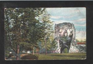 072648 LATVIA Livland Ruine Segewold Vintage PC