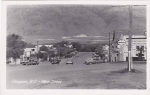 RP: Main Street , OSOYOOS , B.C. , Canada , 30-40s ; IMPERIAL Gas Station
