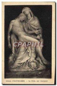 Postcard Abbey Hautecombe The pieta by Cacciatori