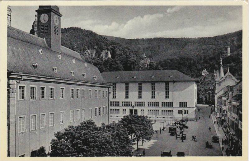 Die Alte Und Die Neue Universitat, Heidelberg (Baden-Württemberg), Germany, ...