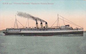 Canada C P R S S Princess Charlotte Vancouver Victoria Service