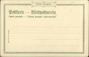 Deutsch Ost Afrika Dar Es Salaam Tanzania General Major Liebert c1900 Postcard