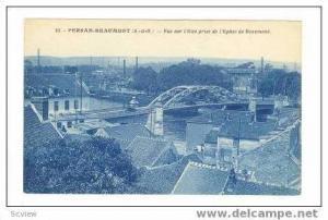 Vue Sur L´Oise prise de L´Eglise De Beaumont,00-10s Beaumont (Municipality,...