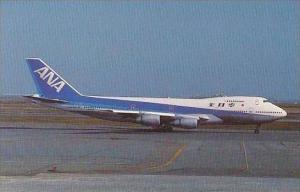 All Nippon Airways Boeing 747SR-81 JA8136