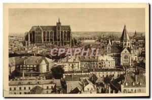 Old Postcard Metz Panorama