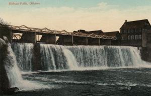 OTTAWA, Ontario, Canada, 1900-10s; Rideau Falls ; Version-2