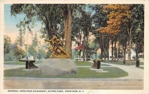 9631 NY Herkimer    General Herkimer Monument, Myers Park