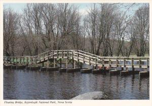 Floating Bridge Kejimkujik National Park Nova Scotia Canada
