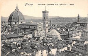 Italy Firenze - Cattedral e Panorama dalla Cupola di S. Lorenzo