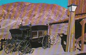 California Calico Ghost Town Horse Drawn Hearse