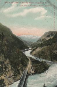 RP : Kicking Horse Canyon , B.C. , Canada ,1907
