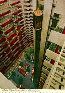 Georgia Atlanta Hyatt Regency Hotel Atrium 1974