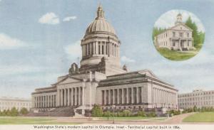 Modern Capitol Building at Olympia WA, Washington