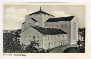 Schweinfurt  a. Main, Bavaria, Germany 1940s, Kirche St Anton