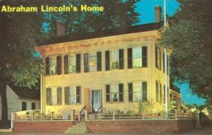 Abraham Lincoln's Home, Springfield Illinois 1968 used Po...
