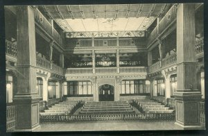 Folger Shakespeare Library Theatre View Washington, D.C. old postcard