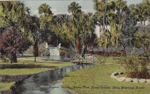 Florida Daytona Hoehne Park Private Grounds Along Ridgewood Avenue