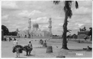 Nigeria Kano Natives Donkeys, Cathedral Church 1953