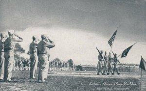 CENTREVILLE , Mississippi, 1940s ; Camp Van Dorn , Battalion Review