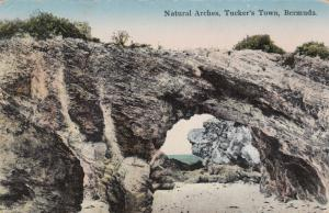 BERMUDA, 1900-10s ; Natural Arches , Tucker's Town
