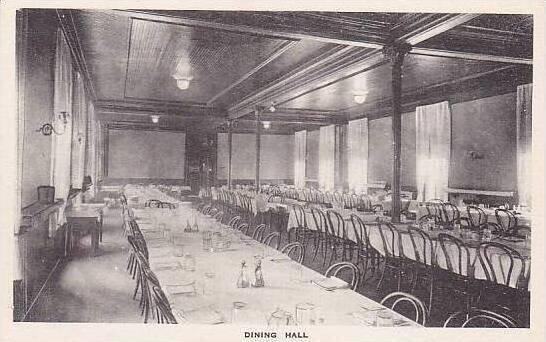 Pennsylvania Saltsburg Dining Hall Albertype