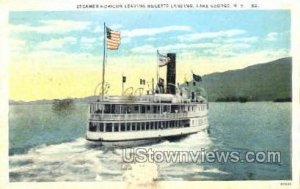 Steamer Horicon in Lake George, New York
