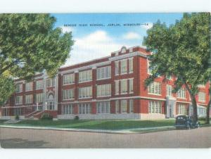 Linen HIGH SCHOOL SCENE Joplin Missouri MO E2201