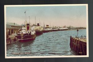 Mint Picture Postcard Belfast Ireland American Donegal Quay harbor