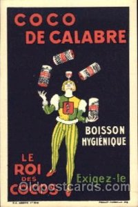 Advertising Co Co De Calabre Postcard Post Card Unused