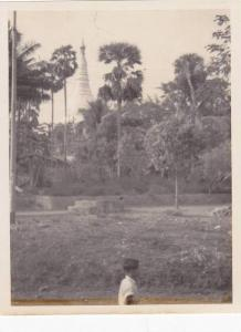 RP; Shrine Dagon Pagoda, Rangoon, Burma, 1930s