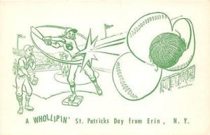 St Patrick's Day Baseball Unused