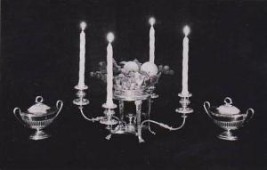 Kentucky Shelbyville Sheffield Chandelier and Sauce Tureens Wakefield-Scearce...