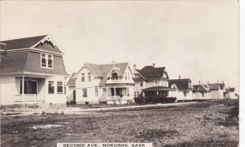 RP:  NOKOMIS , Saskatchewan , Canada , PU-1915 ; Second Avenue