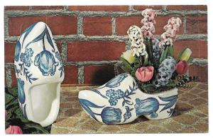 Dutch Delft Planters Advertising Postcard Craft Kit Iowa