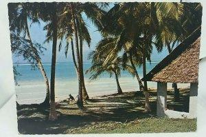 Vintage Postcard Trade Winds Hotel P O Ukunda Mombasa Kenya Posted 1970