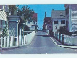 Unused Pre-1980 STREET SCENE Cape Cod - Provincetown Massachusetts MA G4800
