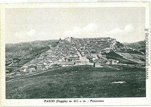 07875 - CARTOLINA d'Epoca - FOGGIA: PANNI