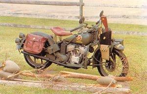 1944 Indian Model 741 World War II Motorcycle Unused
