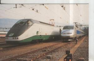 Postal 011398: Trenes de Gran Velocidad Europeos