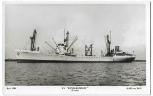 Benalbanach Nautica Real Photo Postcard 01.21