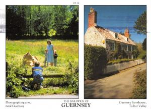 Guernsey Postcard Channel Islands, Multi View by D.R Photography Ltd P34