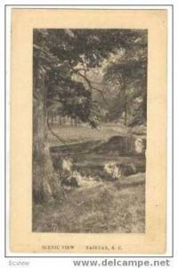 View, Fairrfax, South Carolina, 1910-30s