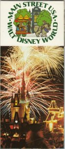 WALT DISNEY  , Florida , 50-60s ; Main Street Booklet 8 Postcards , 1970s