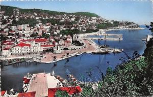 France Nice Entree du Port et le Mont Boron CPSM 1951