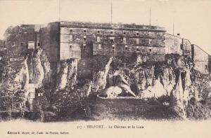 Le Chateau Et Le Lion, Belfort (Franche Comte), France, 1900-1910s
