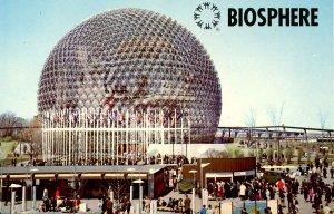 Canada - Montreal. Expo67. Biosphere