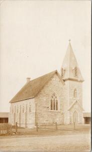 Church Sheffield Ontario ON Real Photo Postcard D86