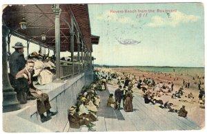 Revere Beach from the Boulevard