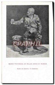 Old Postcard Museum Provincial De Bellas Artes De Murcia Belen de Salzillo El...