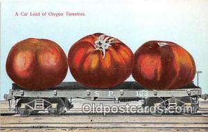 Car Load of Oregon Tomatoes Oregon, USA Postcards Post Cards Old Vintage Anti...